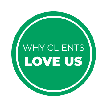 Why Clients Love Us